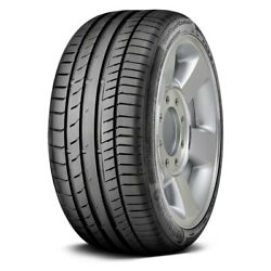 Continental Set Of 4 Tires 295/40r22 Y Contisportcontact 5 Performance