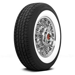 Coker Set Of 4 Tires P215/75r14 S American Classic 2 1/2 Inch Whitewall