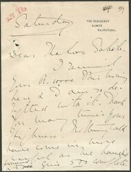 India 1916 Letterhead Signed Marie Willingdon Wife Of The Future Viceroy Etc