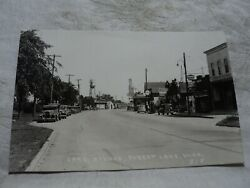Forest Lake Mn Minnesota Lake Ave. Hammand039s And Schmidt Beer Signs Rppc Postcard