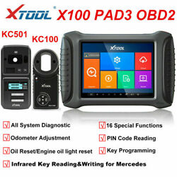 Xtool X100 Pad3 Auto Key Programmer Diagnostic Scanner With Kc501 Code Reader