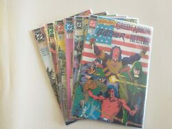 Dc Comics Brave And The Bold Lot 1-6 Green Arrow The Butcher The Question 1991