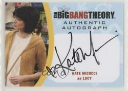 2016 Cryptozoic The Big Bang Theory Seasons 6 And 7 Kate Micucci As Lucy Auto Wd9