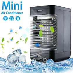 Portable Ac Air Conditioner Mini Personal Cooler Fans Bedroom Cooler Humidifier