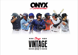 2021 Onyx Vintage Collection Baseball 24 Box Factory Sealed Case