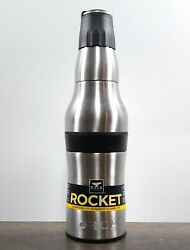 Orca Rocket Bottle And Can Holder With Shot Cup And Bottle Opener New
