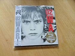 U2 - War   Rare Japanese-only Superhm-cd Mini-lp Card Sleeve  New And Sealed