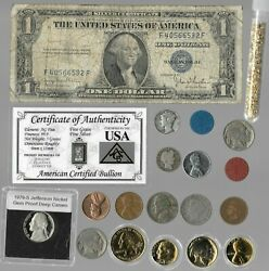 Silver Dollar Barber Mercury Liberty Indian Rare Old Coin Collection Lot Gold Y2