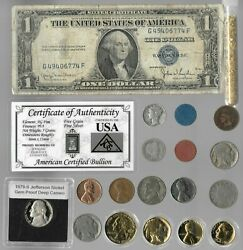 Silver Dollar Barber Mercury Liberty Indian Rare Old Coin Collection Lot Gold Y3