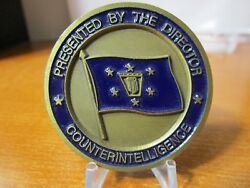 Director Of National Counterintelligence Ci Ses Dept Of Defense Challenge Coin