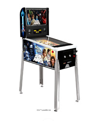 Star Wars Digital Pinball Machine By Arcade 1up, Brand New With Free Shipping