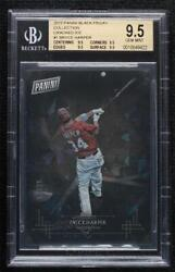 2015 Black Friday Panini Collection Cracked Ice /25 Bryce Harper 1 Bgs 9.5
