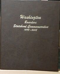 1999 - 2008 Statehood + 2009 Dc And Territories Complete Quarter Sets. D P S S