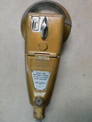 Non Working 1960's Duncan 1c 5c 10c 32 Parking Meter W/ Mounting Bolt 18 Tall
