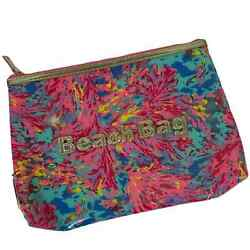 Lilly Pulitzer Beach Pouch In Multi Palm Beach $30.00
