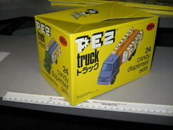 Pez 1970s Japan Truck Series A And B Store Display Box Cover