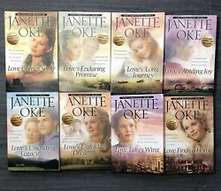 Love Comes Softly Series 2 Boxed Sets 1-4 And 5-8 Paperbacks By Janette Oke