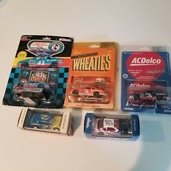 Nascar 164 Lot Of 5.. Earnhardt And Richard Petty. Cars From Memorable Races