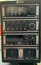 Clarion Component G Series System Circa 1979 With Speakers Crazy Rare L@@k
