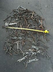 Large Antique Industrial Tool Wrench Collection Sculpture Advertising 140 + Pcs