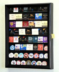 64 Matches Matchbook Display Case Cabinet Holder Rack Holds Up To 64 Match Bo...