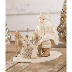 Bethany Lowe Christmas Winter Forest Friends Santa Td0031 Free Shipping