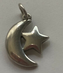 James Avery Sterling Silver Starry Night Charm Barely See James Avery Stamp