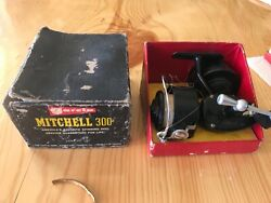Garcia Mitchell 300 Spinning Reel Made In France W/ 2 Spools
