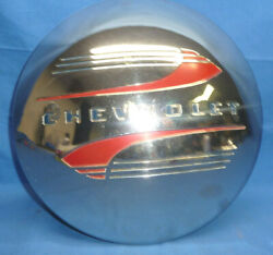 Vintage 1941-1948 Chevrolet Dog Dish Poverty Hubcap Wheel Cover