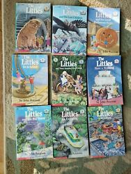Vintage The Littles Chapter Book Lot Of 9 John Peterson Scholastic