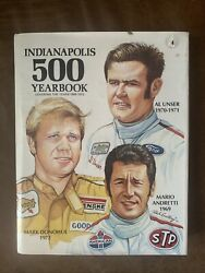1969-1972 Indianapolis 500 Yearbook Hungness Publishing Andretti Unser Donohue