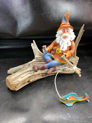 Vtg Hippie Wizard Fishing Pepsi Candle Wizard Wax Works FL Drigtwood New w Tag