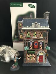 Dept 56 Cic Christmas In The City Kelly's Irish Crafts Set Of 2 59216 Lights Up