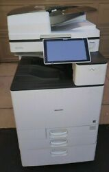 Ricoh Mpc4504 Full Colour Copy / Print /scan A4anda3 Network Readylow Use