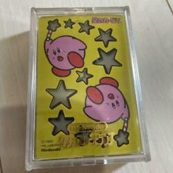 Vintage Kirby Playing Cards 1993 Spade 6 Card Is Missing