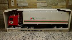 Nib 1980and039s Nylint Gmc Semi Truck Private Label Northrup King Seeds Dealer Promo