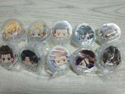 Attack On Titan Peel Clip All 10 Species Comp Set Included