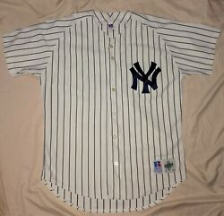 Authentic Mlb Jersey Vintage New York Yankees Russell Athletic Wade Boggs Home