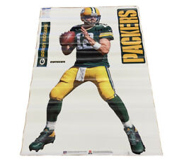 """Fathead Green Bay Packers Aaron Rodgers Decal 44"""" X 78"""""""