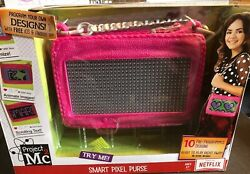 Project Mc2 Smart Pixel Purse Pink Program Moving Images And Text S.t.e.a.m. Toy