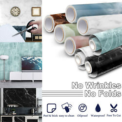 Marble Contact Paper Waterproof Wallpaper Countertop Removable Self Adhesive Pvc