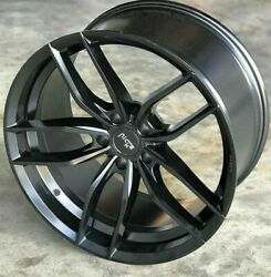 Staggered Rims 19 Inch Wheels For 2013 2014 2015 Camaro Ls Lt Rs Ss Only -5728