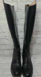 Effingham Boots Size 10w Style 200l Black Equestrian Womenand039s Bond Boot Co. A37