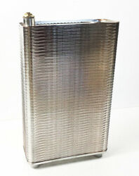 100 Plate Radiator Stainless Steel Heat Exchanger 1/2''1'' Mpt