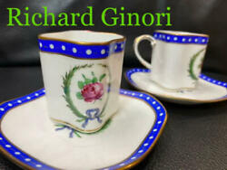 15. Discontinued Products Ginoli Venetian Rose Demitas Cup Saucer