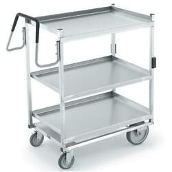 Vollrath - 97208 - 23 In X 35 In 3-tier Stainless Steel Utility Cart