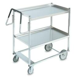 Vollrath - 97200 - 20 In X 35 In 2-tier Stainless Steel Utility Cart