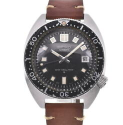 Seiko 2rd Diver 150m 6105-8000 Date Black Dial Automatic Menand039s Watch R104538
