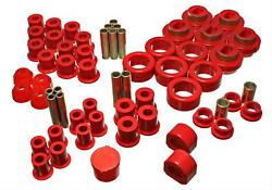 Energy Suspension Master Bushing Kit Red 1981-87 Chevy/gmc 4wd Pickup W/stock Sp