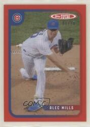 2020 Topps Total Red /10 Alec Mills 883 Rookie